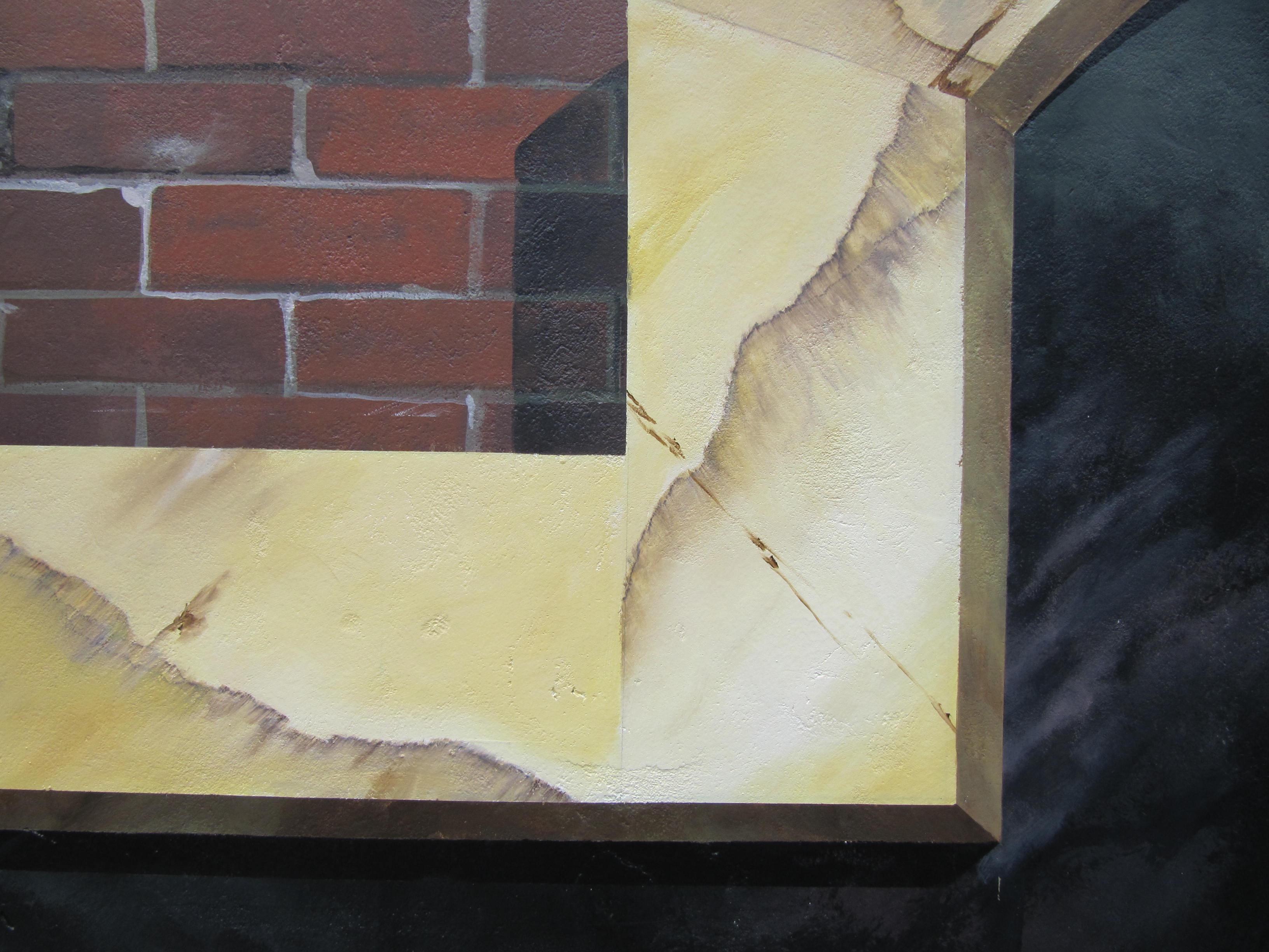 detail trompe-l'oeil