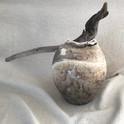 urne funéraire obvara et bois foltté