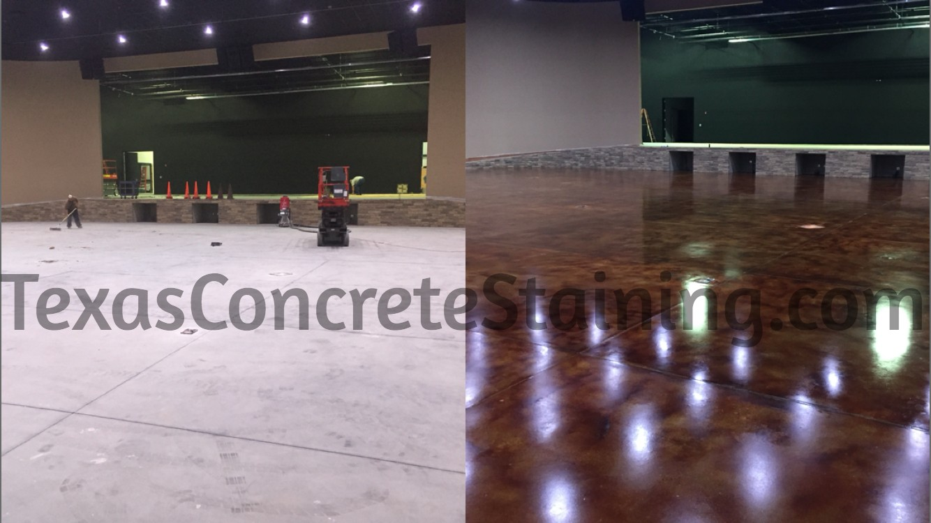 Texas Concrete Staining