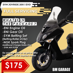SYM Joyride 200 i EVO