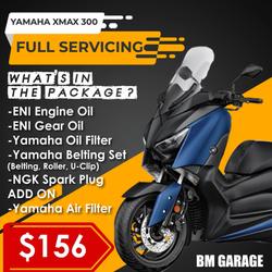 Yamaha XMAX 250/300