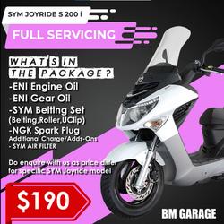 SYM Joyride S 200 i