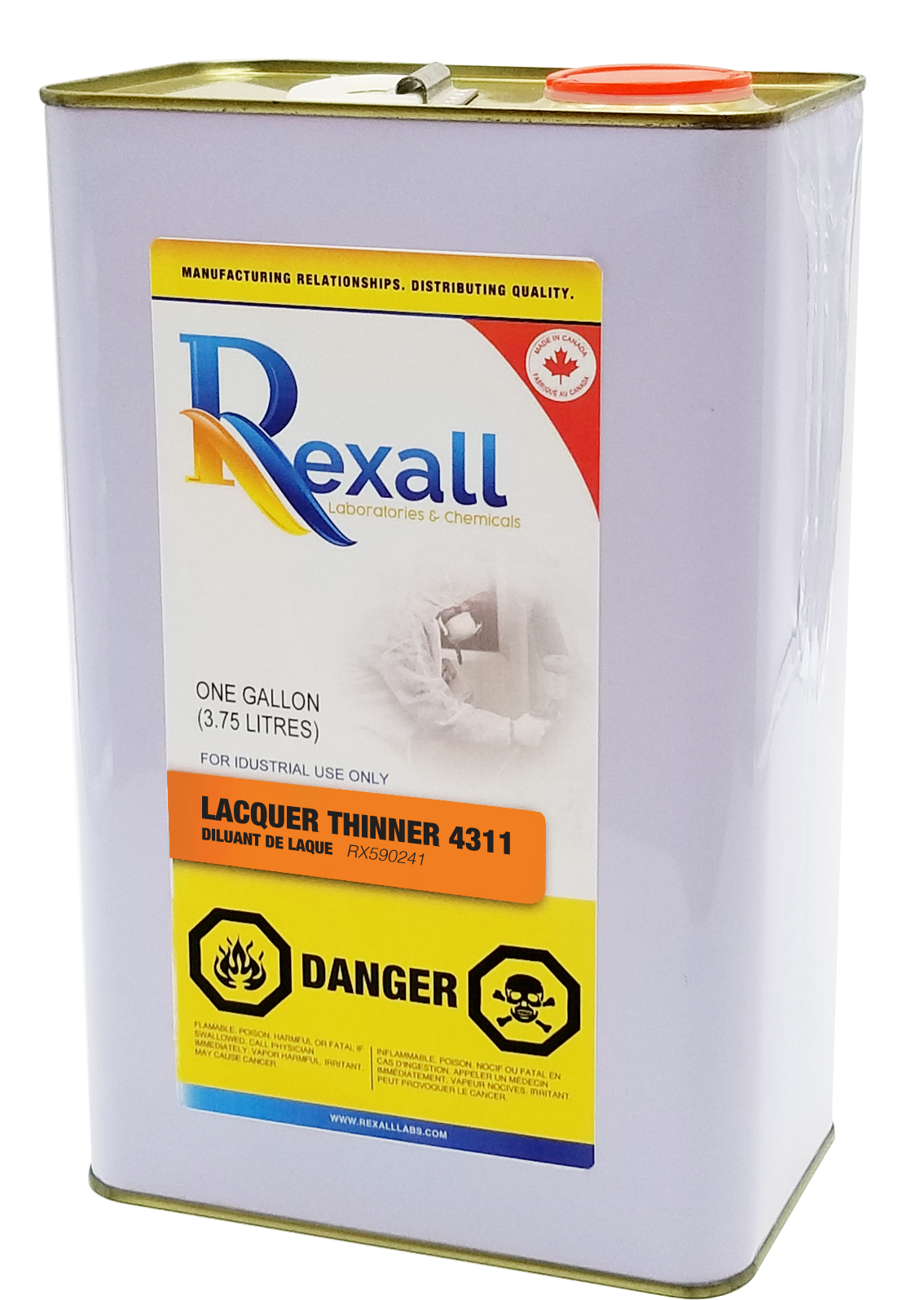 LACQUER THINNER 4311 | Rexall_Labs