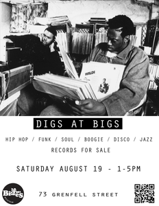 Digs at Bigs poster by Anthony Puliatti