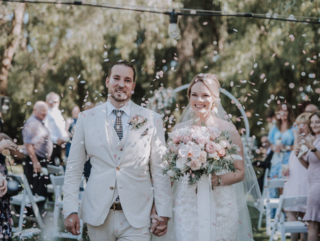 Renee & Justin's Wedding at Peacock Farm