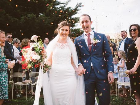 Luke & Blythe's Wedding at Ivybrook Farm