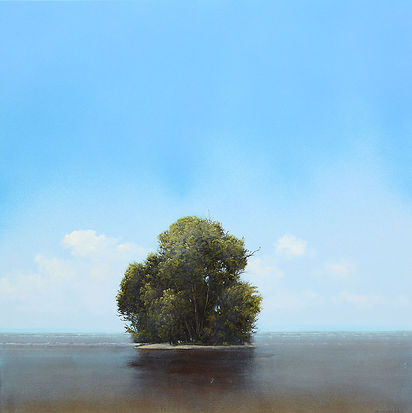Mysterium, 24x24 inches, oil on panel, by Robert Marchessault