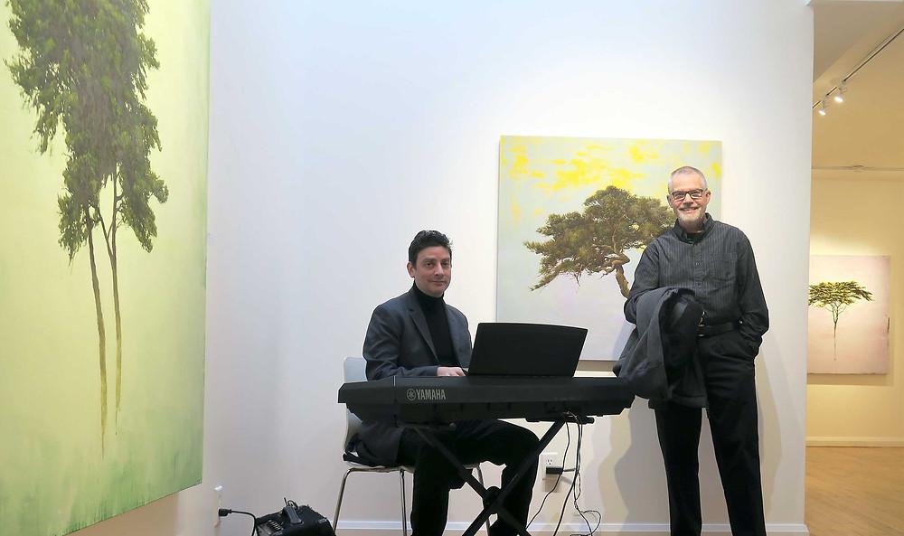 David Restivo and Robert Marchessault at Bau-Xi Galleries Toronto