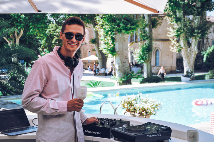 DJ WEDDING POOL PARTY