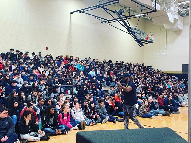 Spoke at 4schools today! Planted a seed