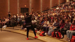 I spoke to over 2000 students about valu
