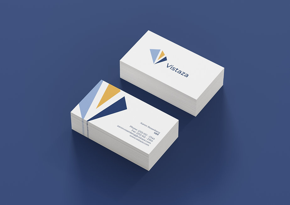Vistaza Business Cards