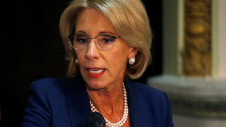 DEMS AIM TO BLOCK DEVOS TITLE IX RULE CHANGES, SAY THEY COULD HAVE 'CHILLING EFFECT' ON STUD