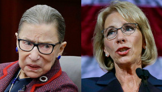 Op-Ed: Justice Ginsburg and Secretary DeVos agree
