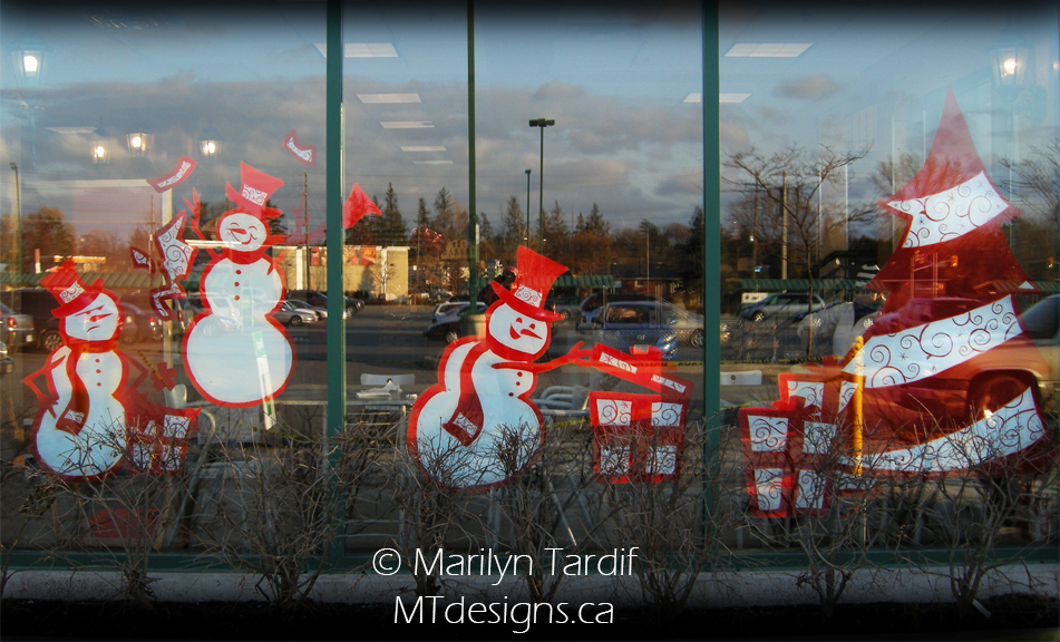 Snowmen_and_Tree_-_©_Marilyn_Tardif_-_MT_Designs_Art_Studio