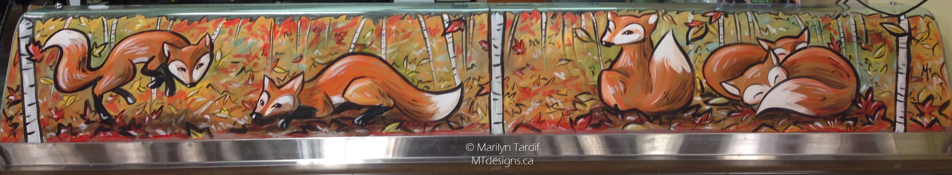 Fall_Foxes_-_©_Marilyn_Tardif_-_MT_Designs_Art_Studio