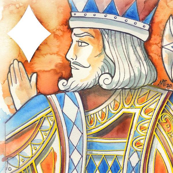 King of Diamonds - Watercolour 01.jpg