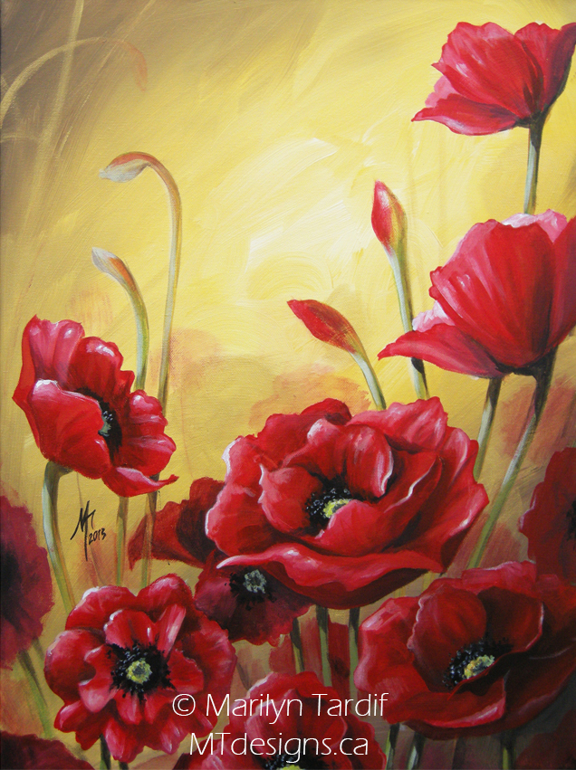 Autumn_Poppies_-_©_Marilyn_Tardif_-_MT_Designs_Art_Studio