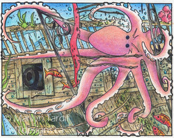 Octopus_-_©_Marilyn_Tardif_-_MT_Designs_Art_Studio