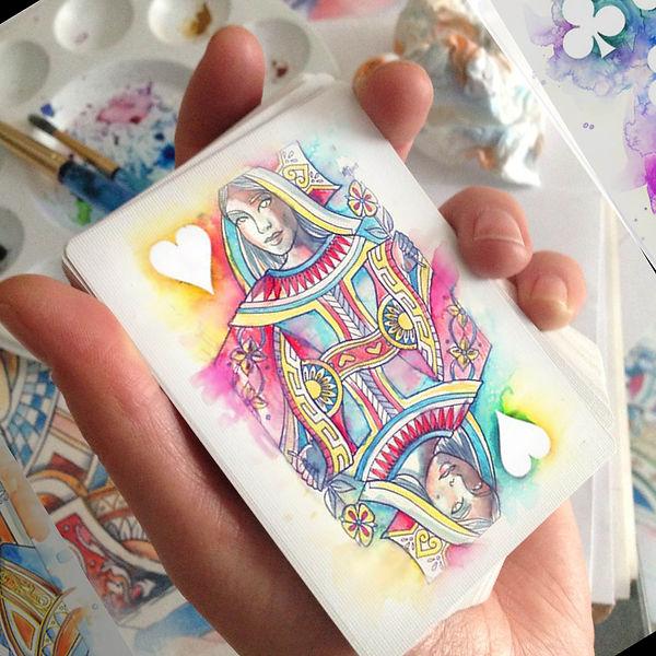 Queen of Hearts - Watercolour 03.jpg