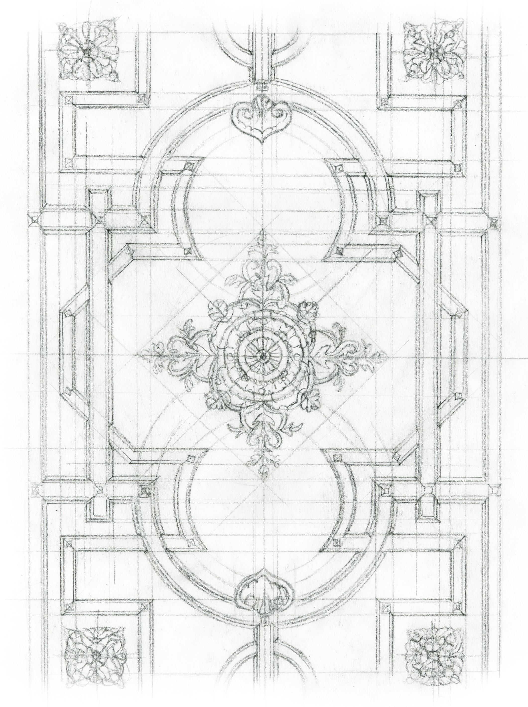 Ceiling Rough Sketch - 01
