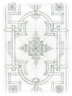 Ceiling Rough Sketch - 01