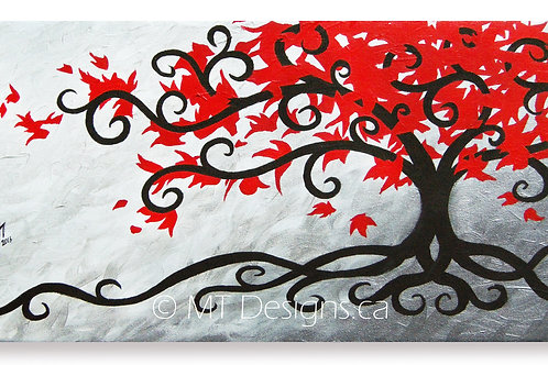 Red Maple Art Print