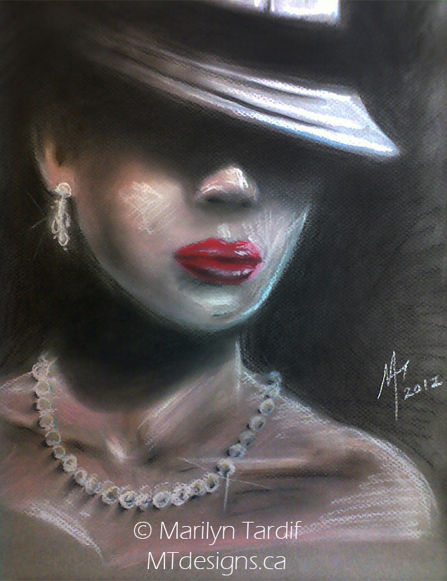 LadyFilm_noir_-_©_Marilyn_Tardif_-_MT_Designs_Art_Studio