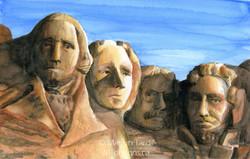 Mount_Rushmore_Watercolor_-_©_Marilyn_Tardif_-_MT_Designs_Art_Studio