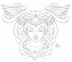 Face Fountain - Sketch 07