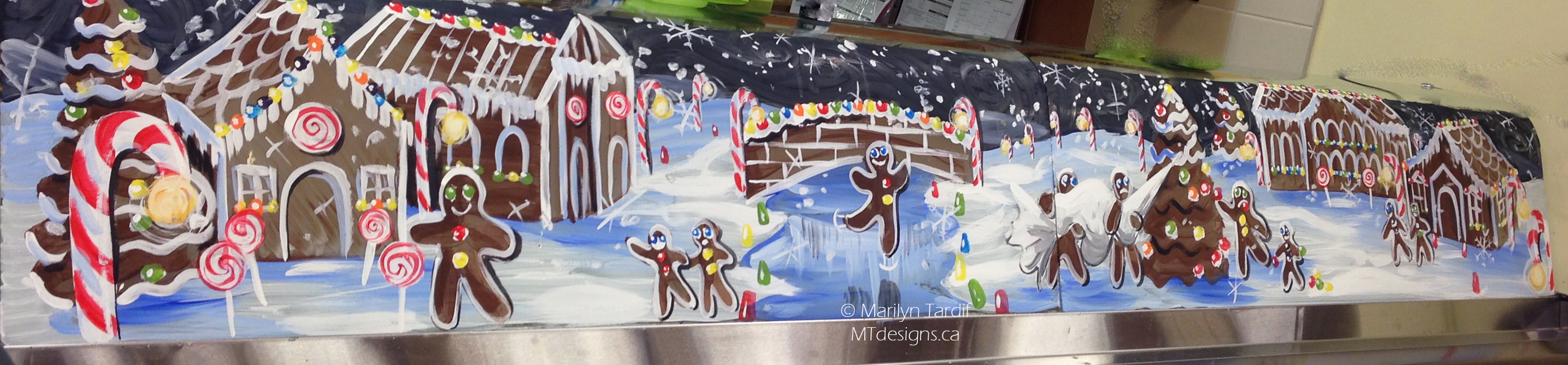 Gingerbread_Village_-_©_Marilyn_Tardif_-_MT_Designs_Art_Studio