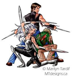 Hero_Trio_-_©_Marilyn_Tardif_-_MT_Designs_Art_Studio