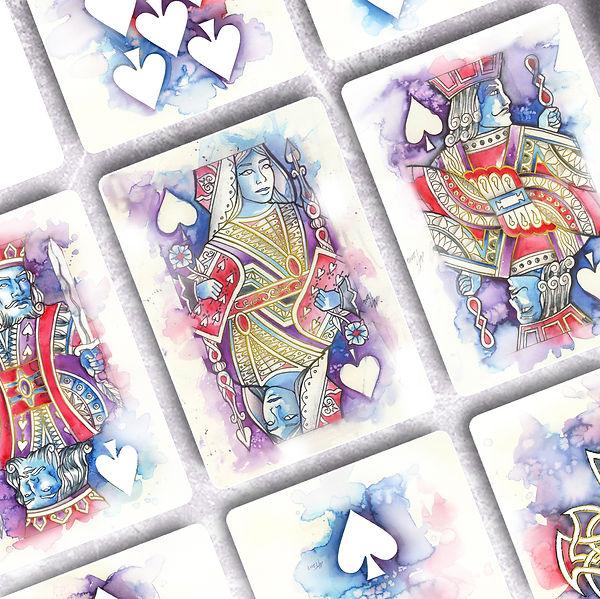 MT Designs Art Studio - Spade Cards - Wa