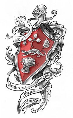 MTdesigns - Paul Coat of Arms - Red