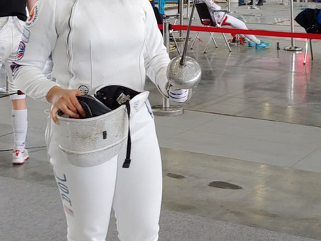 FOR IMMEDIATE RELEASE: Loudoun fencer Michaela Joyce to represent Team USA at World Championships