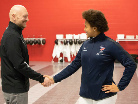 PRESS RELEASE: 01/15/2019 North Virgini Fencers make history for USA Fencing