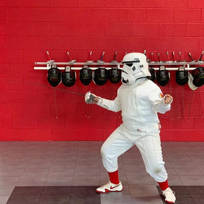 May the 4th be with you! #fencingfriends