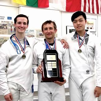 Congratulations to Coach Alex, Liam and