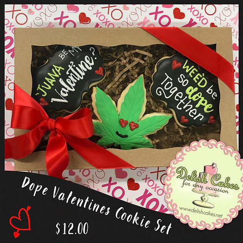 Dope Valentines Cookie Set
