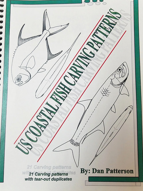 US Coastal Fish Carving Patterns