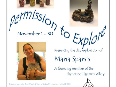 November 2019 - Permission to Explore