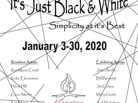 January 2020  It's Just Black & White