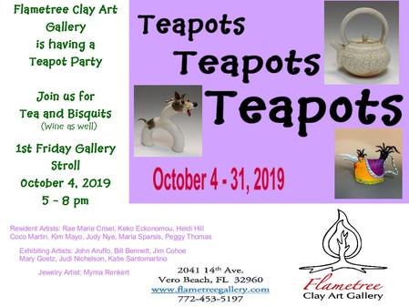 October 2019 - Teapots, Teapots, Teapots