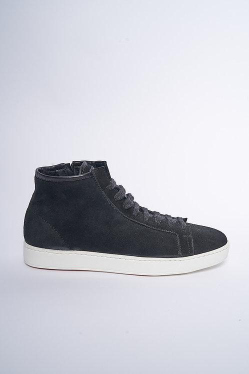 Santoni High Top Sneaker