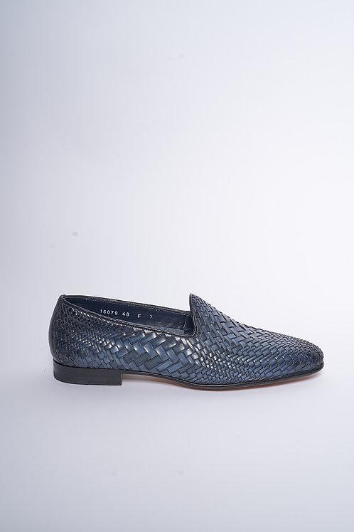 SANTONI Loafer Woven