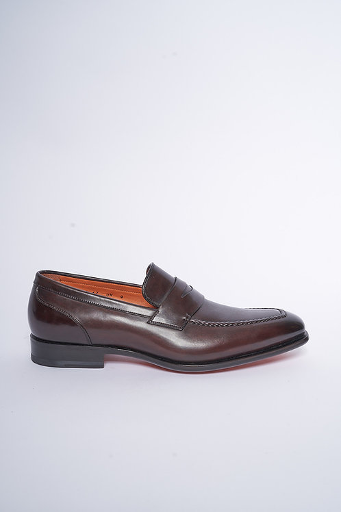 SANTONI Loafer aus Leder