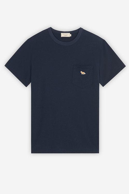 MAISON KITSUNÉ Profile Fox Patch Pocket Tee-Shirt