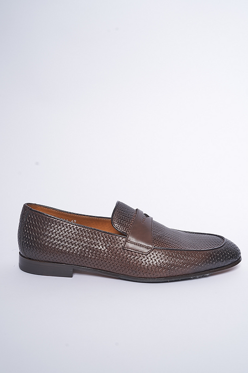 Doucal's Penny Loafer Woven