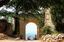 Old monastery Sainte-Victoire