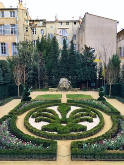 Jardins de l'Hôtel de Caumont Aix